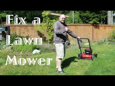 how to fix a lawnmower that won t start