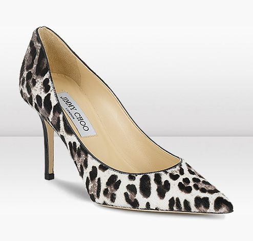 Black and white animal print pumps google search