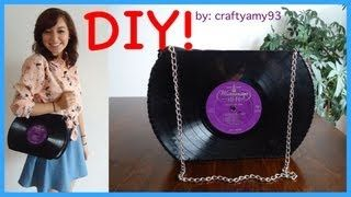 viynl record bag - YouTube