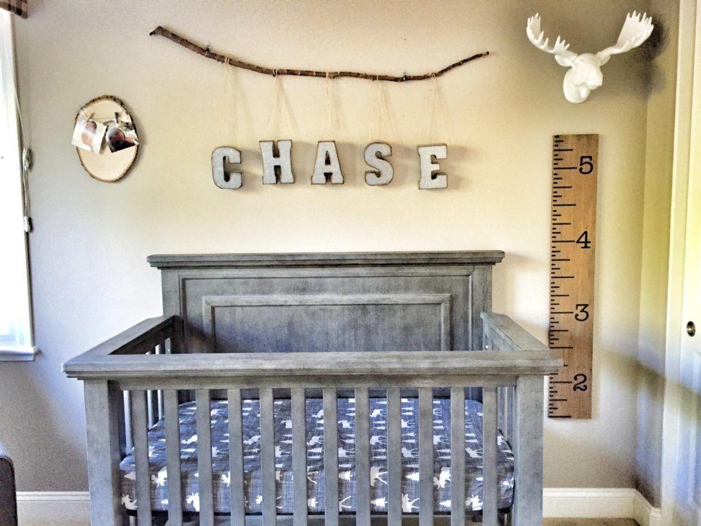 Chase S Urban Cabin Nursery Rustic