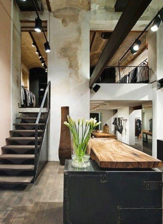 ger umige K che modern einrichten industieller Stil  in 2020   Decor, Interior design blog ...