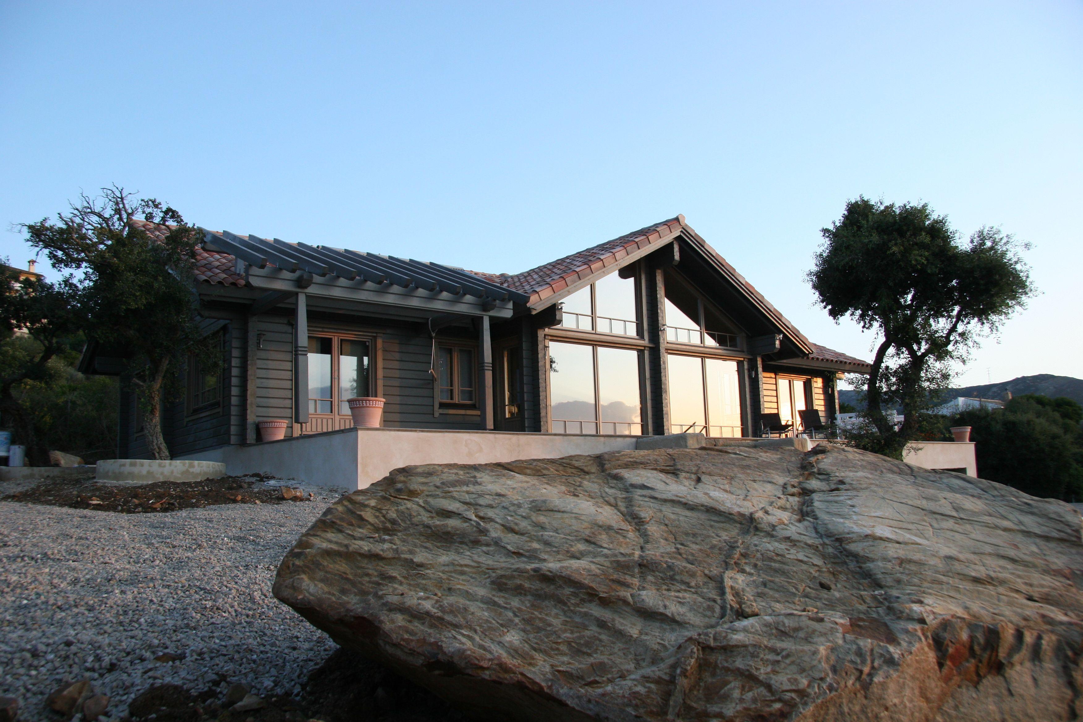 Casa honka en tarifa cadiz log house honka design pinterest logs traditional and house - Casas de madera en cadiz ...
