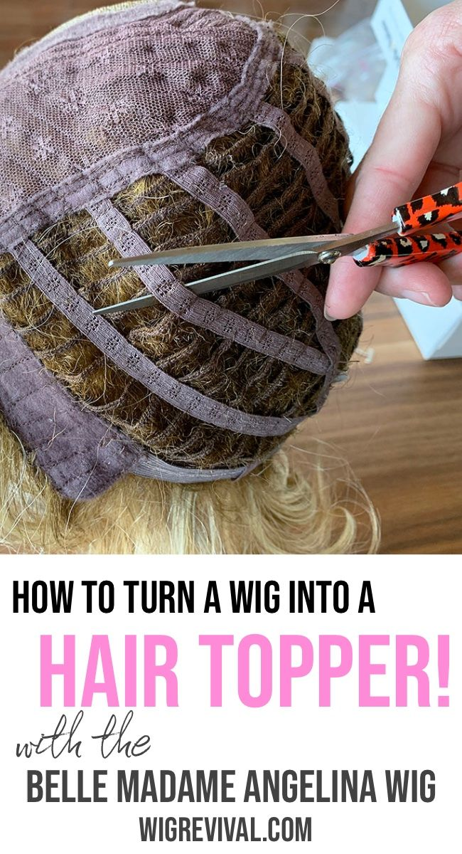 How To Turn a Lace Front Wig into a Hair Topper