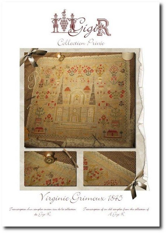 Virginie Grimoux 1845  by Gigi - gotta stitch that one!
