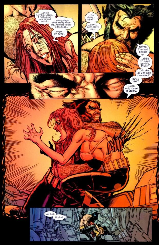 Wolverine Kills Jean Grey And Unleashes The Phoenix New X Men 147