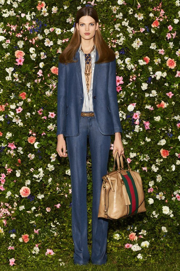 Gucci Resort 2013 Fashion Show - Bette Franke