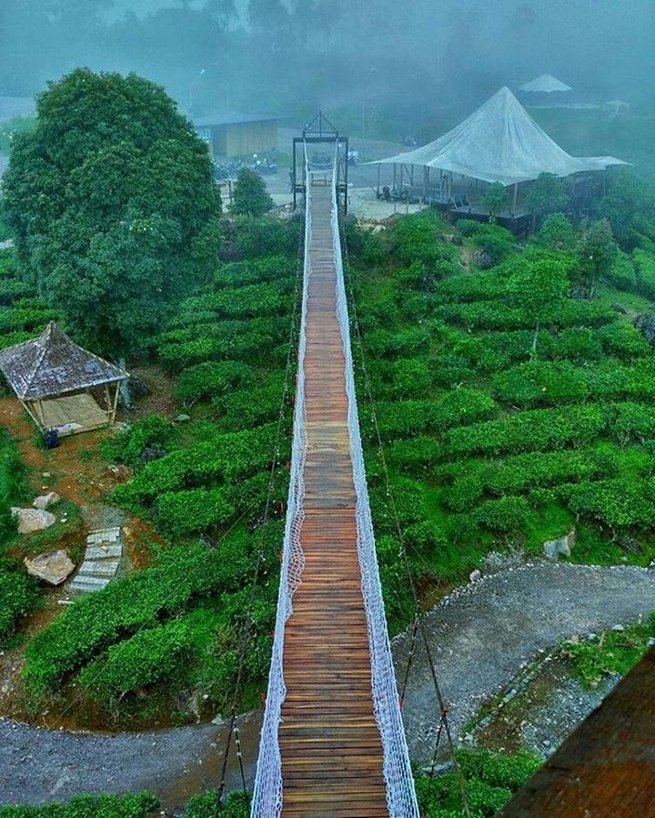 Glamping Lakeside Rancabali Ciwidey Bandung Indonesia