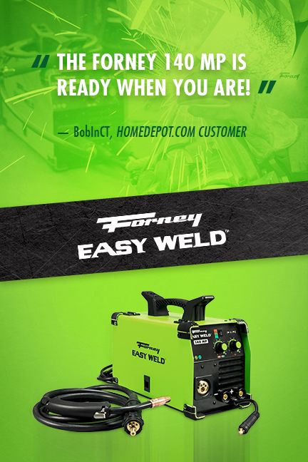 Forney Easy Weld 140 MP Machine Easy, Metal fabrication