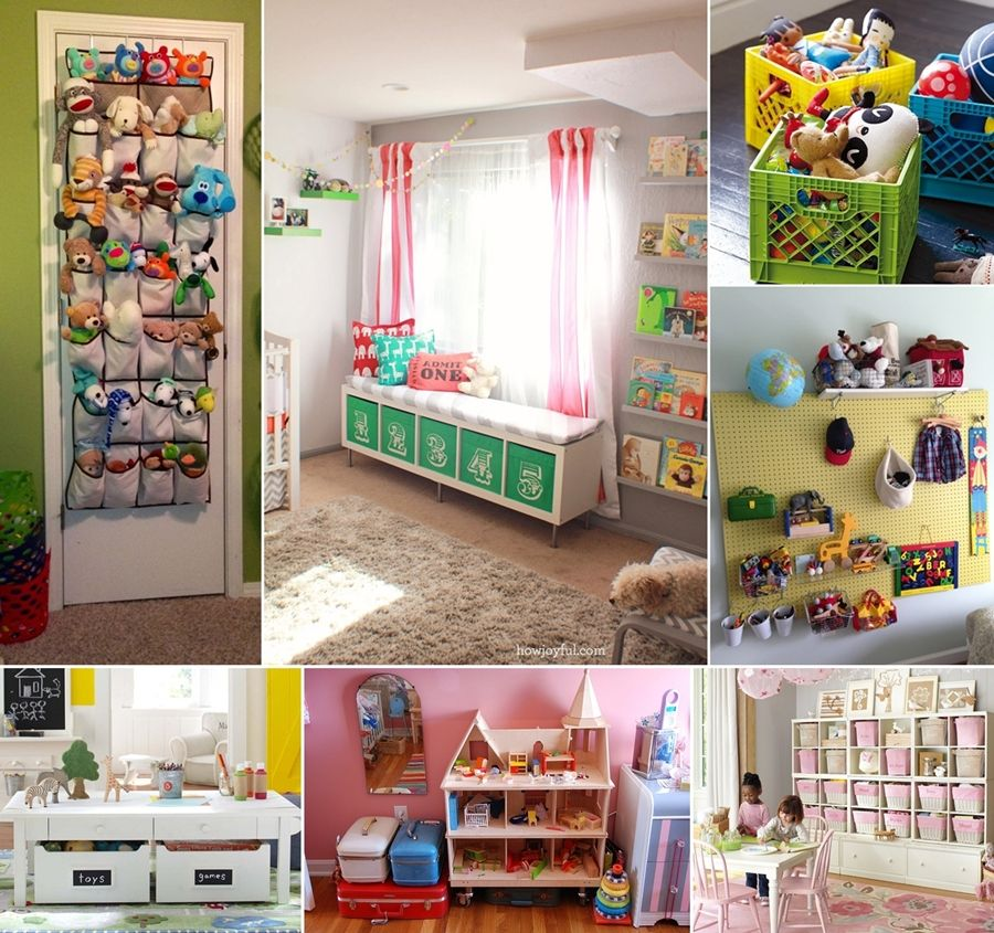 Playroom: 20 Clever Kids Playroom Organization Hacks And Ideas