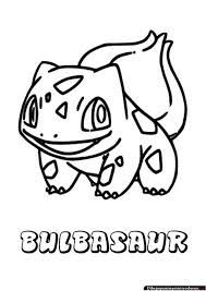 Bulbasaur Coloring Page From Generation I Pokemon Category Select