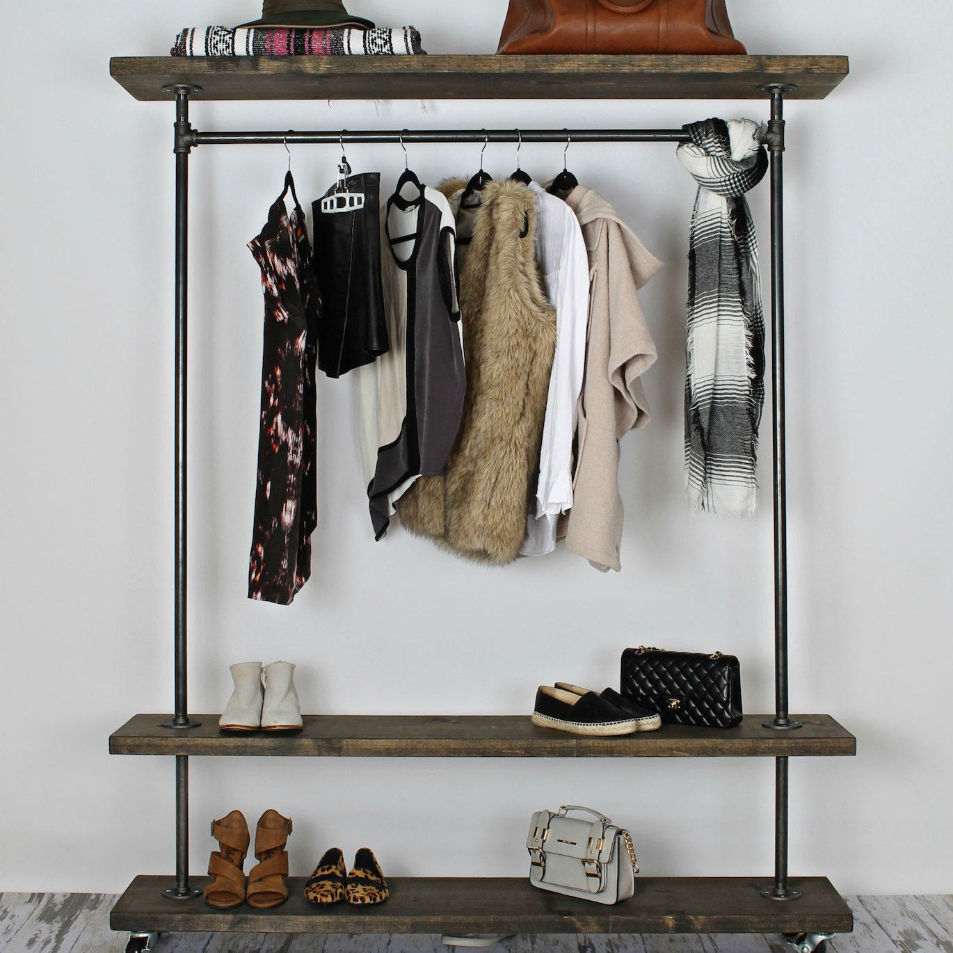 Gentil Handcrafted Industrial Clothing Racks U0026 Industrial Home Furniture