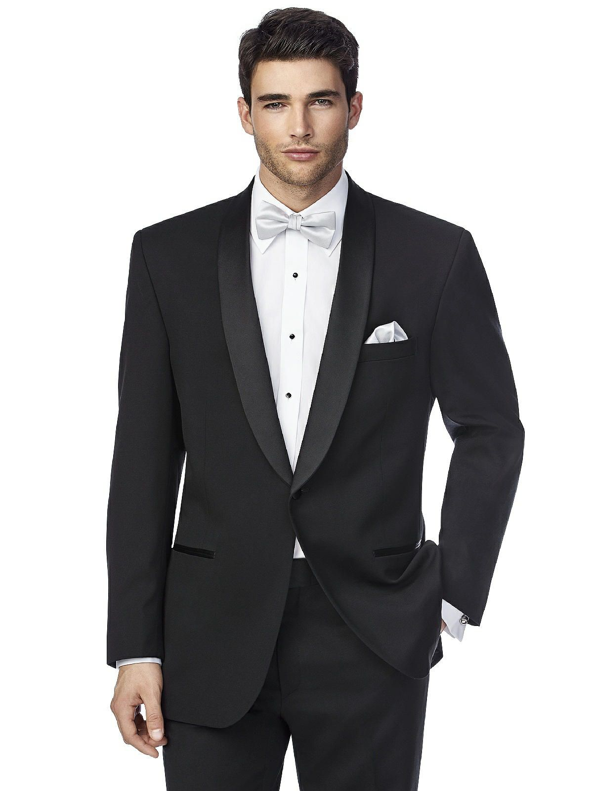 With Satin Shawl Lapels And Extra Fine Italian Wool This Wedding Tuxedo Is A Standout