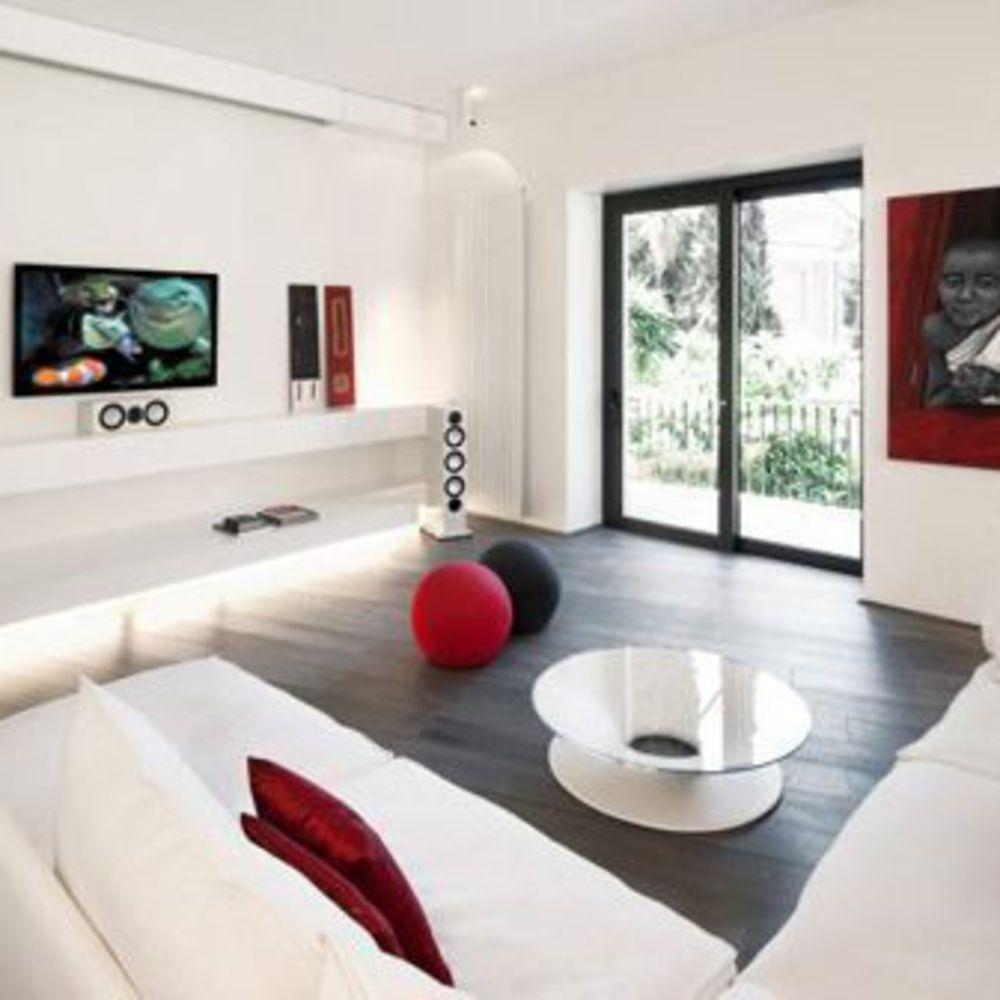 Décoration salon blanc : les plus belles photos  Décoration salon