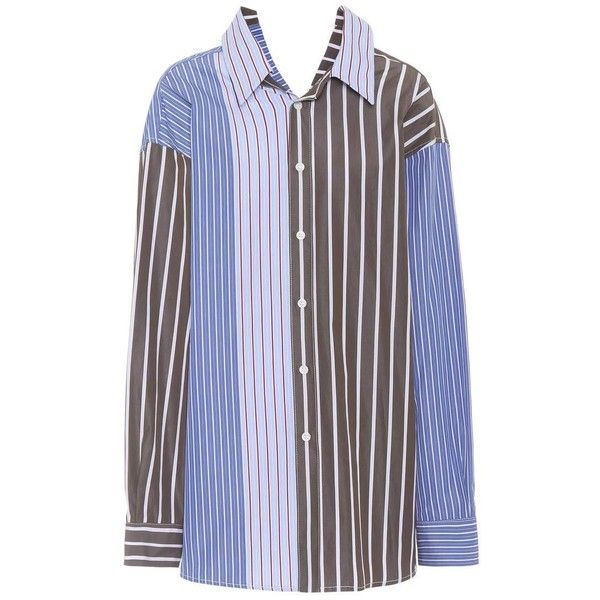 Fashion Style Online Oversized striped cotton shirt Marni Buy Cheap Best Prices New Arrival Many Kinds Of For Sale Auuxv9srep