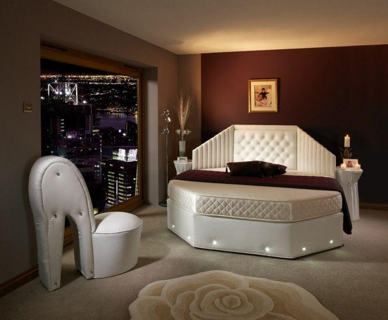 Rundes Bett Wie Man Es In Sein Inneres Integriert Romantisches