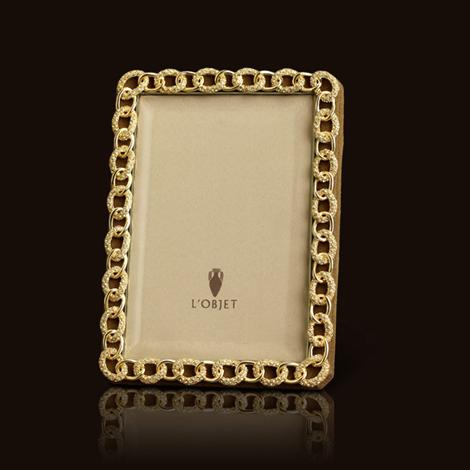 L Objet Gold Pave Links Frame Www L Objet Com With Images L Objet Frame 8x10 Picture Frames