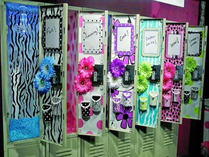 how to organize locker decorating ideas by homesinteriordesignnet - Locker Designs Ideas
