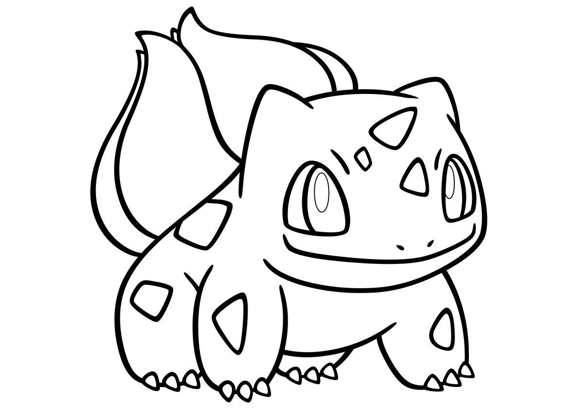 001 Бульбазавр (с изображениями) | Раскраски, Рисунки для ...