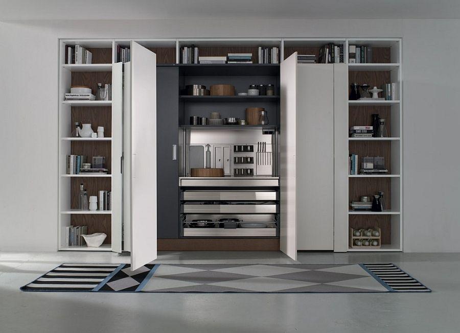 Contemporary Italian Kitchen E Saving Versatile Compositions