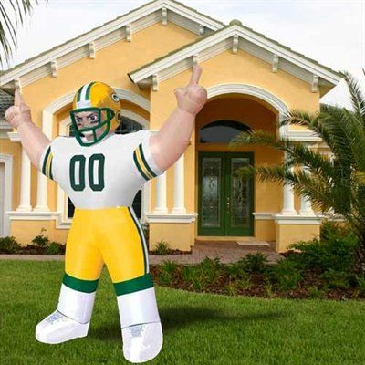 Green Bay Packers 8 Inflatable Player Seattle Seahawks Clothing Carolina Panthers Oregon Ducks