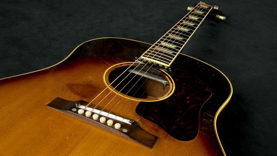 The Guitar John Lennon Used To Write Love Me Do Sold For 2 4 Million John Lennon Guitar Acoustic Guitar Pictures Acoustic Guitar Chords