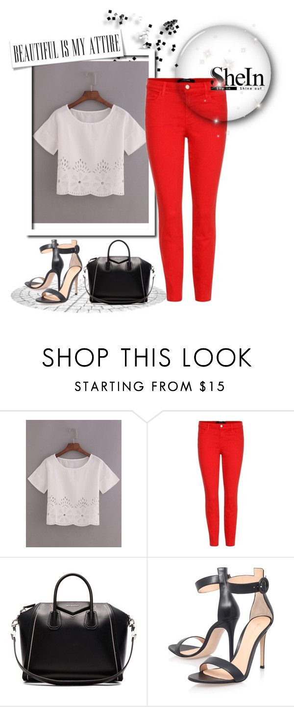 """""""Contest"""" by mirha-1 ❤ liked on Polyvore featuring J Brand, Givenchy and Gianvito Rossi"""