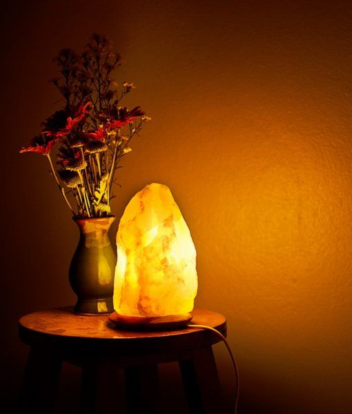 Side Effects Of Himalayan Salt Lamps Unique Real Handmade Himalayan Salt Crystal Lamp  Salt Crystal