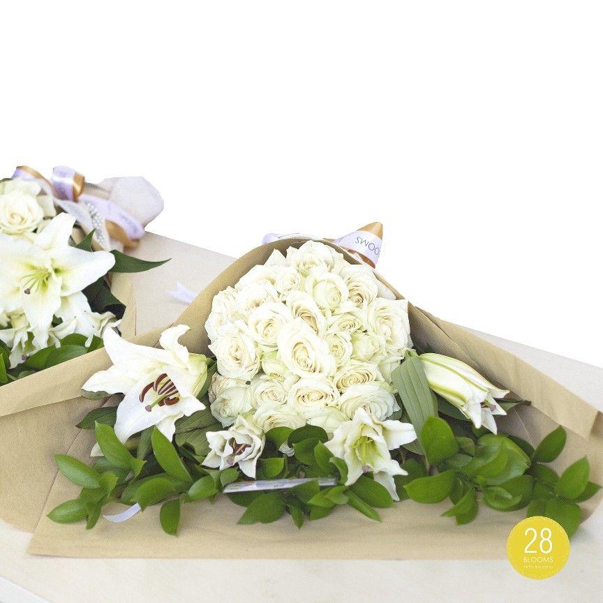 Special Flowers For Mr Michael S Surprise Gift Bunga Mawar Casablanca