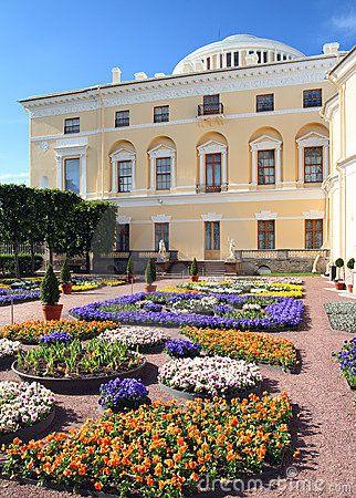 Pavlovsk Palace In Spring St Petersburg Russia St Petersburg Imperial Palace Petersburg