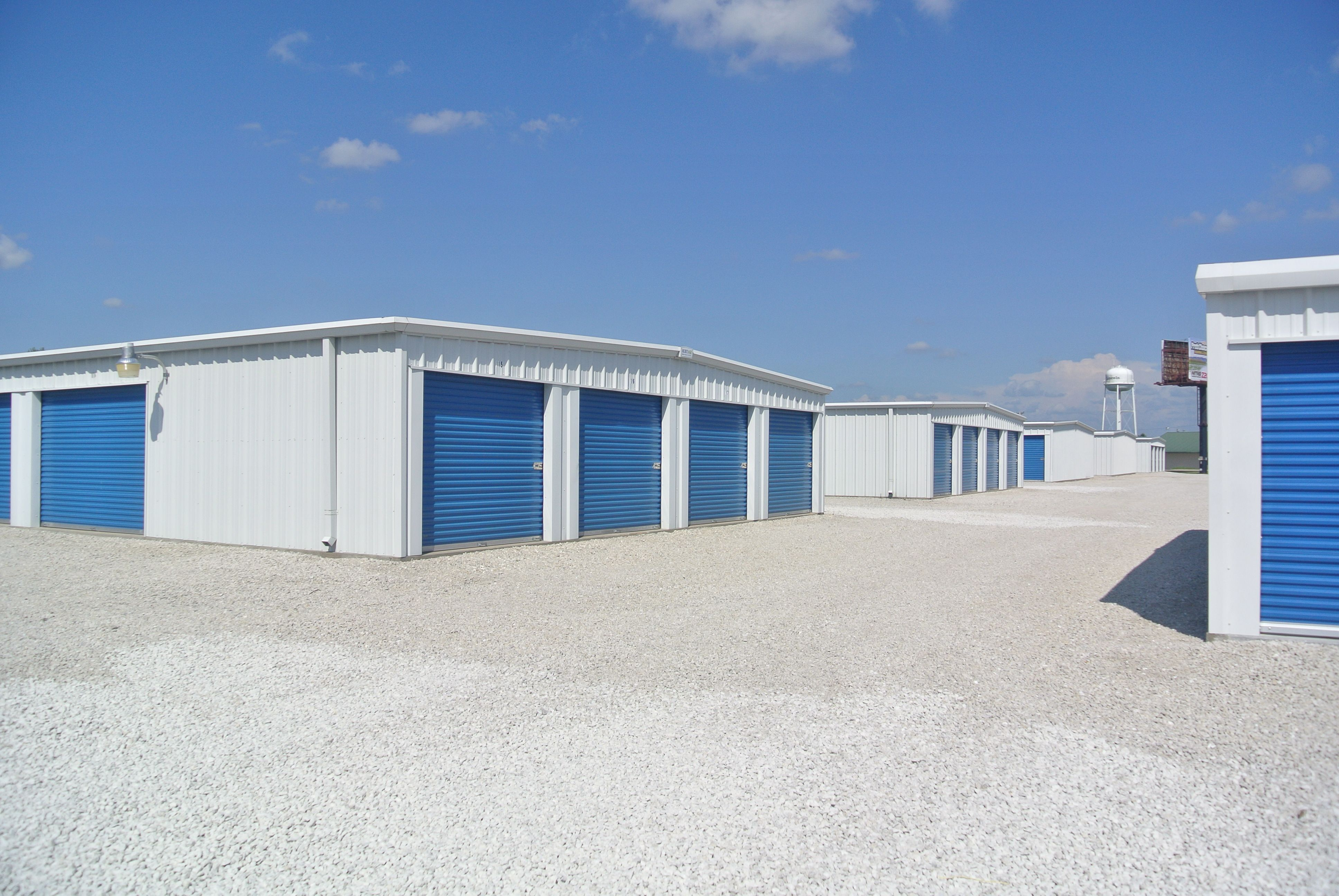 Steel SelfStorage Buildings and Prefab Mini Storage Units