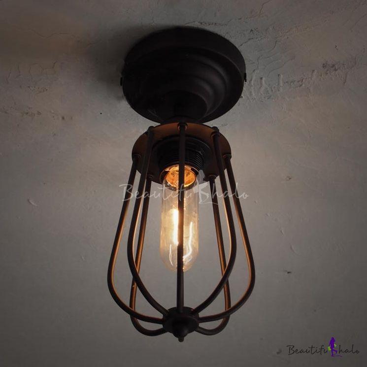 with image raindrop com flush alton aged fixtures lighting brass main cage mount home light flushmount lights