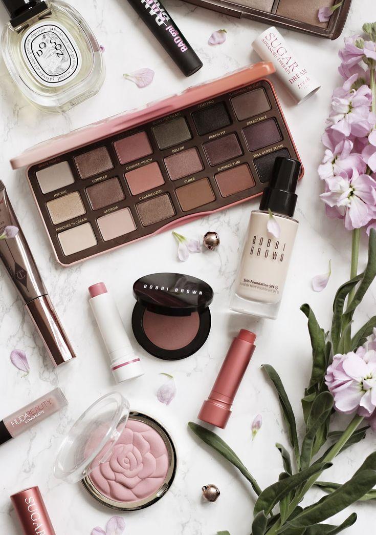 A Peachy Everyday Makeup Look