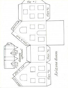 Create a Winter Village in Paper