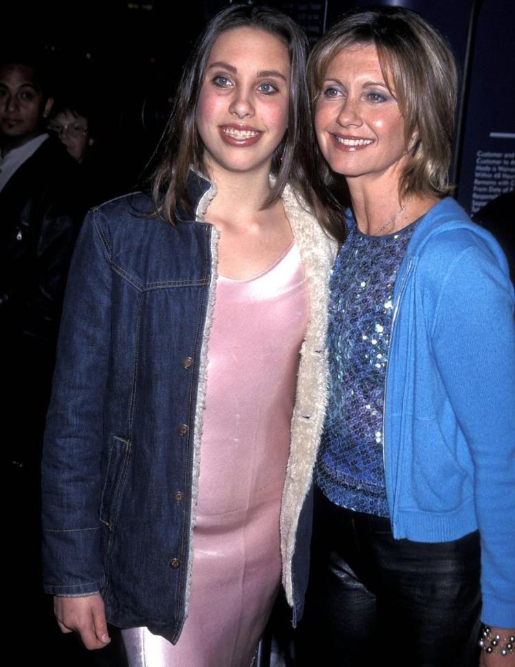 Olivia Newton-John's daughter Chloe Lattanzi reveals plastic