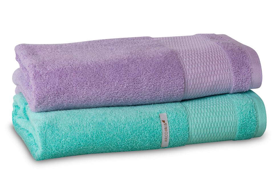 7605d7692935 BRENT. Estas toallas en colores pasteles transforman tu baño en un ...
