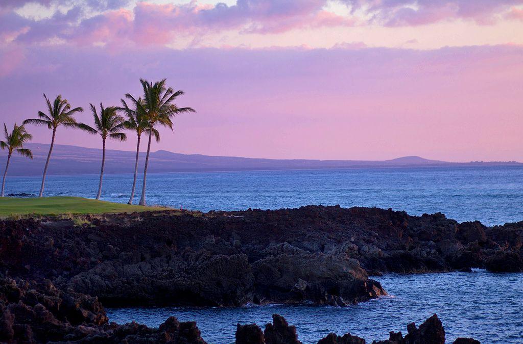 Sunset on the Kohala Coast, Big Island of Hawai'i