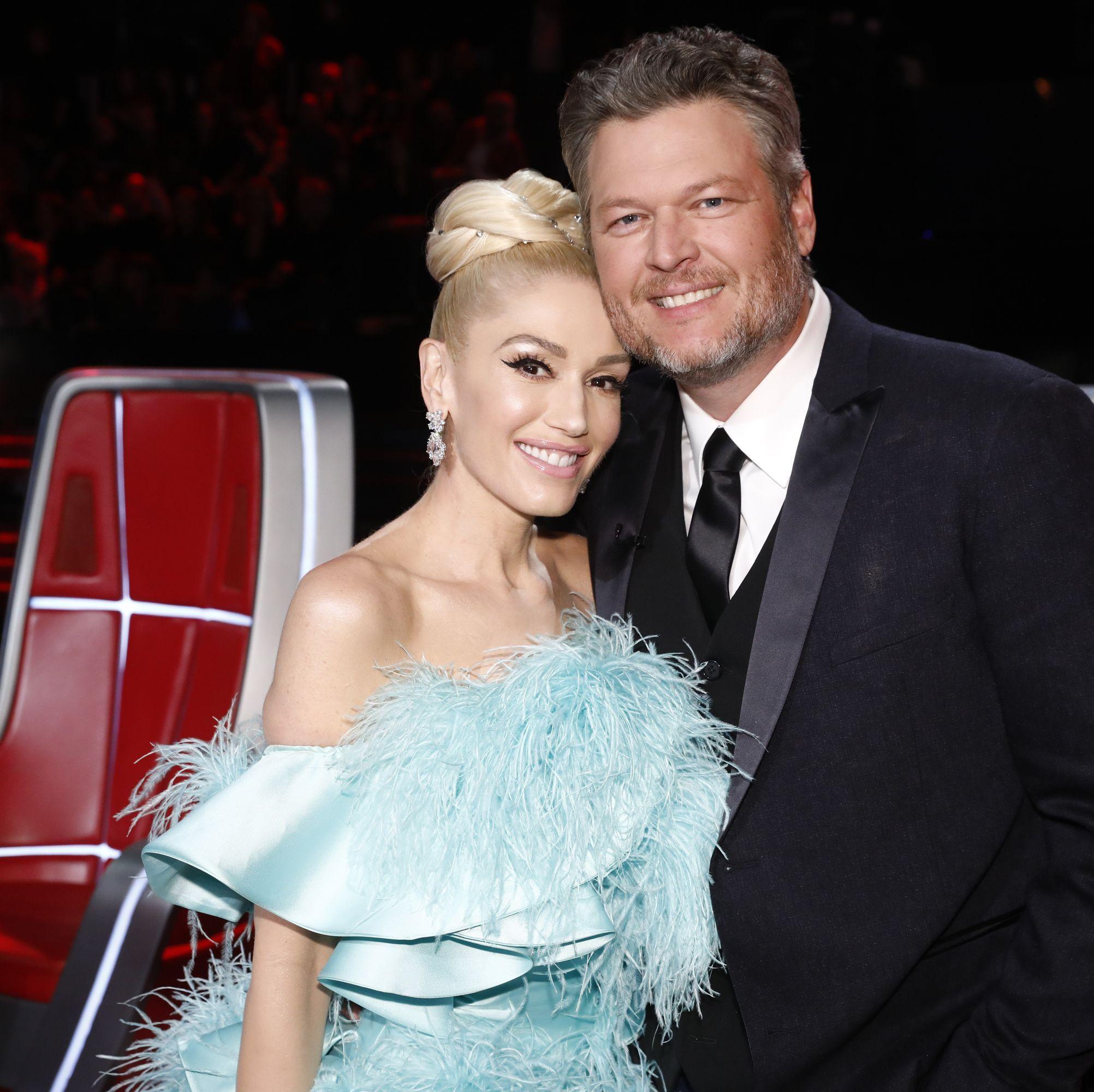 Blake Shelton And Gwen Stefani Married
