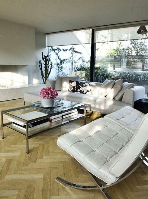 Barcelona Chair Living Room Living Room Modern Interior Design Living Room