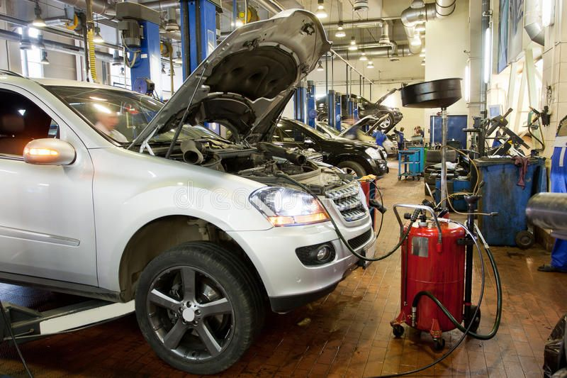 Repair Garage The Car In A Repair Garage Sponsored Garage Repair Repair Car Ad Garage Repair Car Auto Repair