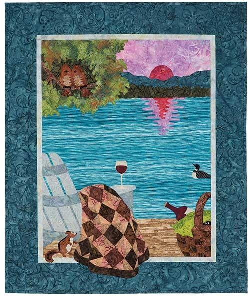 Sunset Lake Quilt Kit : better quilt kits - Adamdwight.com