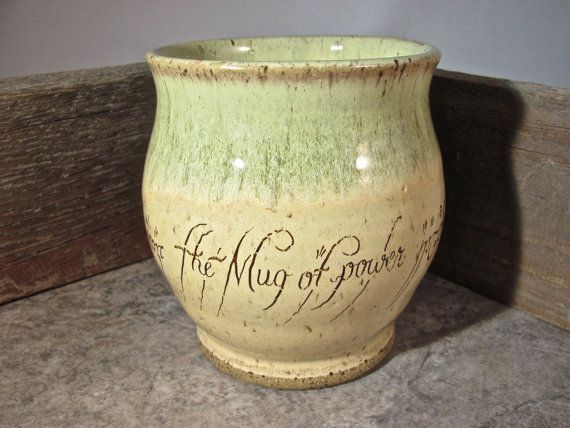The Mug of Power   Lord of the Rings   by von batwoodcreations