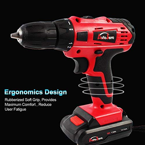 20v Electric Cordless Drill 3 8 Keyless Chuck Lightweight Cordless Drill Rechargeable Lithium Ion Battery Drill Driver D Battery Drill Cordless Drill Drill
