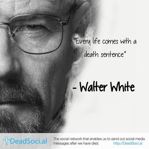Walter White Breacking Bad Frases épicas Y Palabras