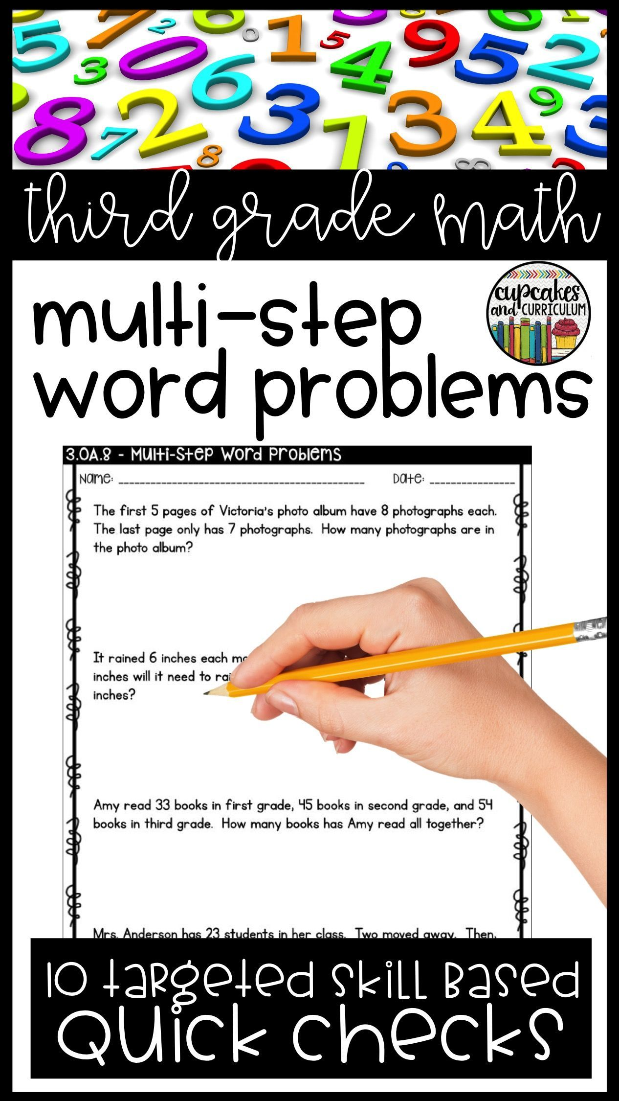 Multi Step Word Problems