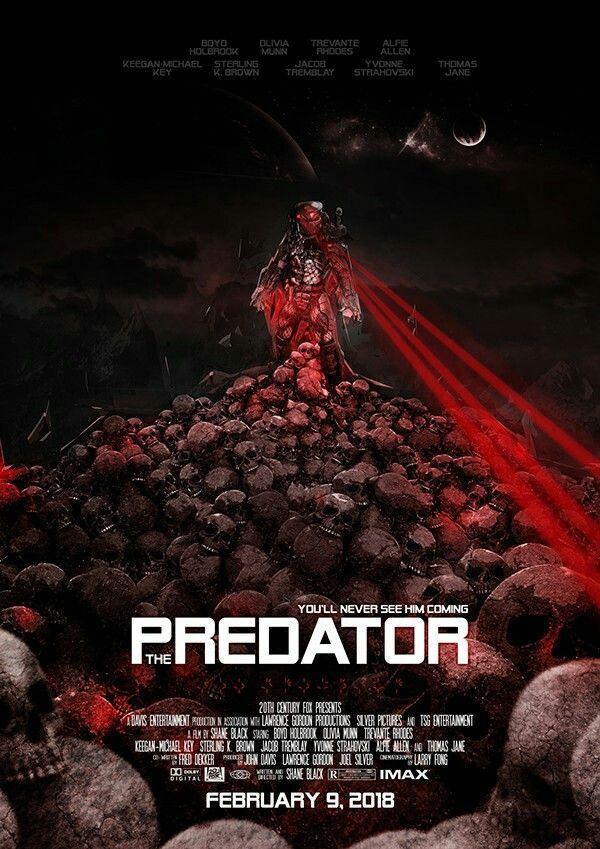 Hasil gambar untuk film the predator 2018 poster
