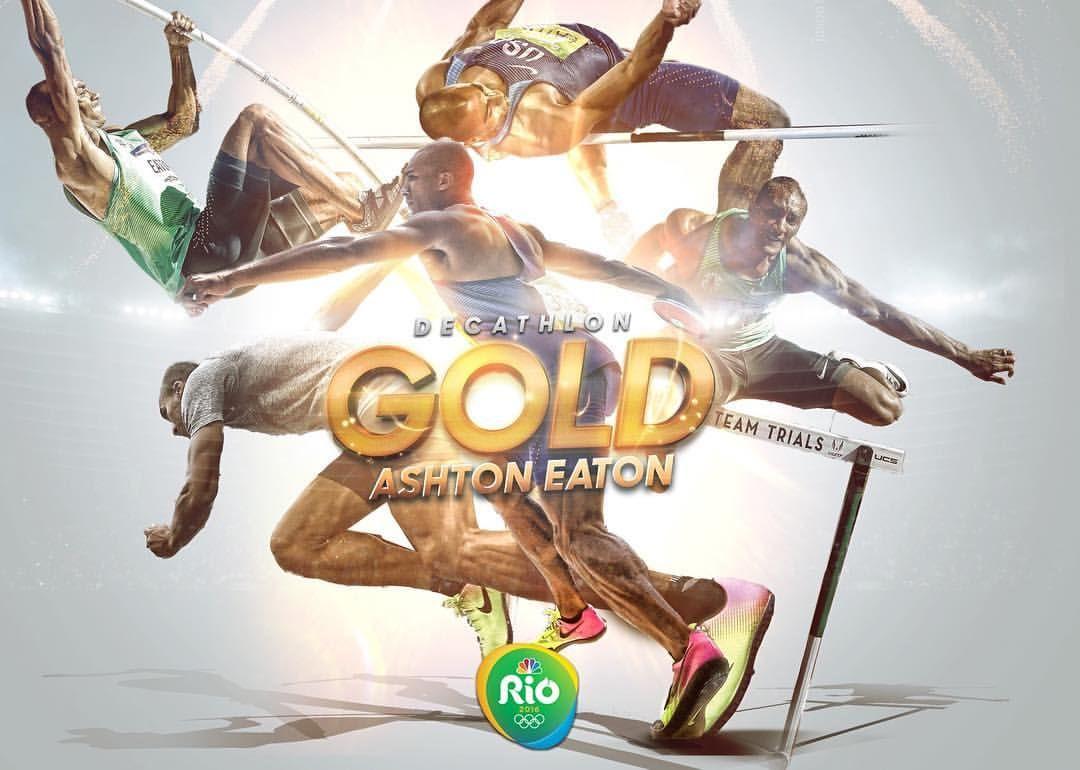 The World's Greatest Athlete! Ashton Eaton wins backto