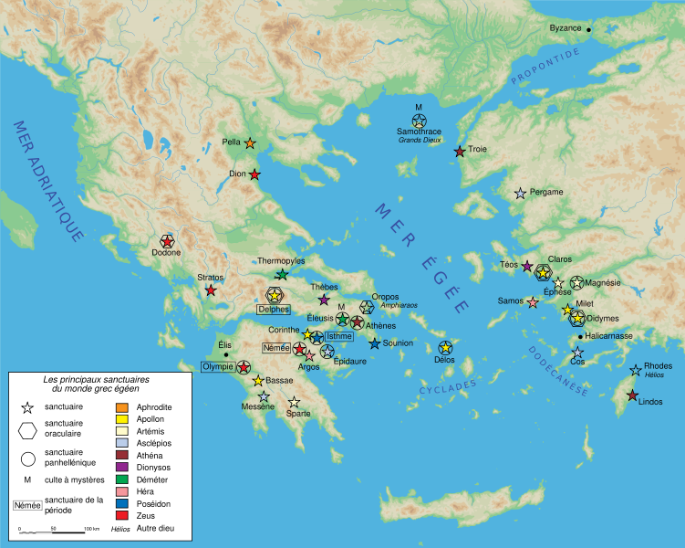 Heres a nice map of ancient greece greece and rome pinterest heres a nice map of ancient greece gumiabroncs Image collections