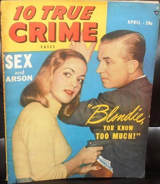 10 True Crime Cases - April, 1949