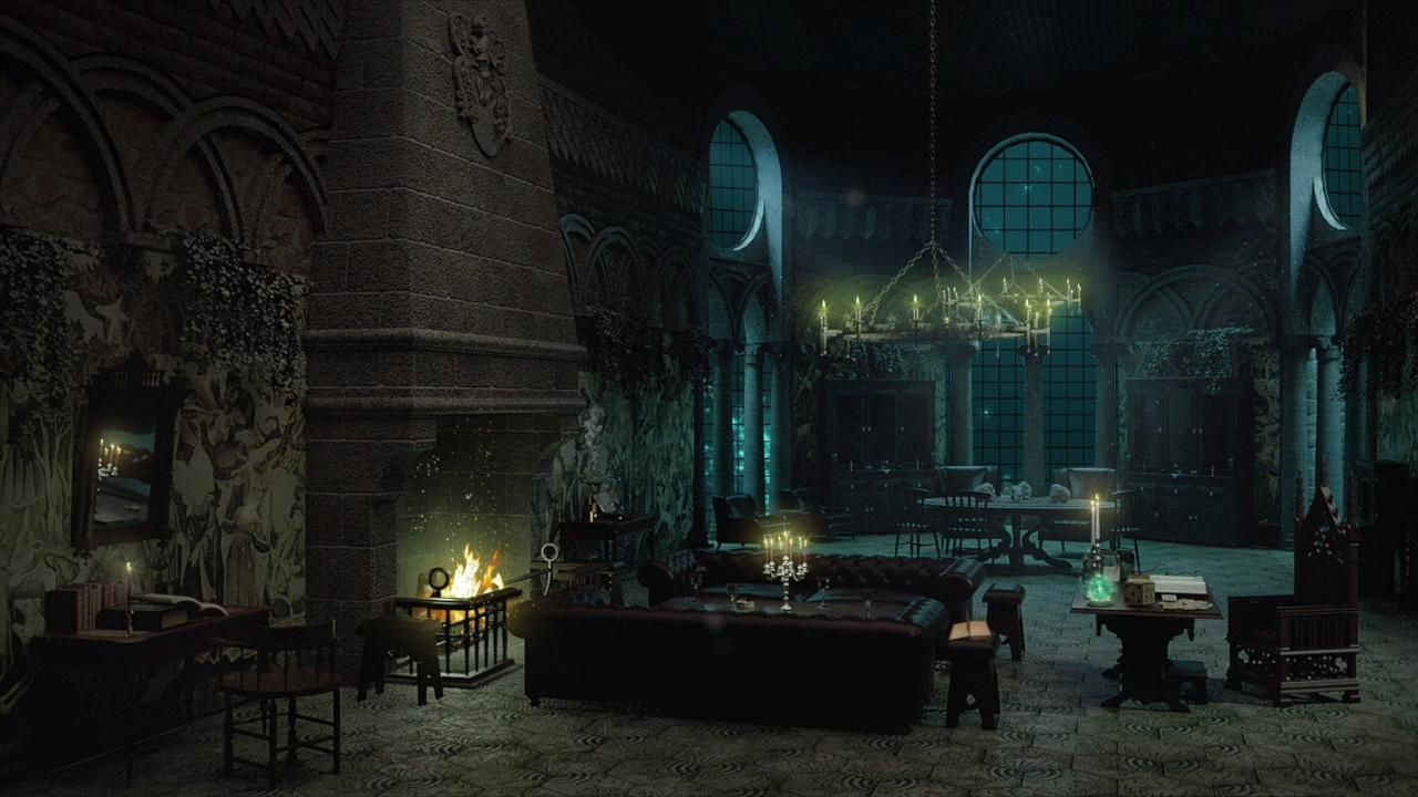 SLYTHERIN MON ROOM AMBIENCE🐍