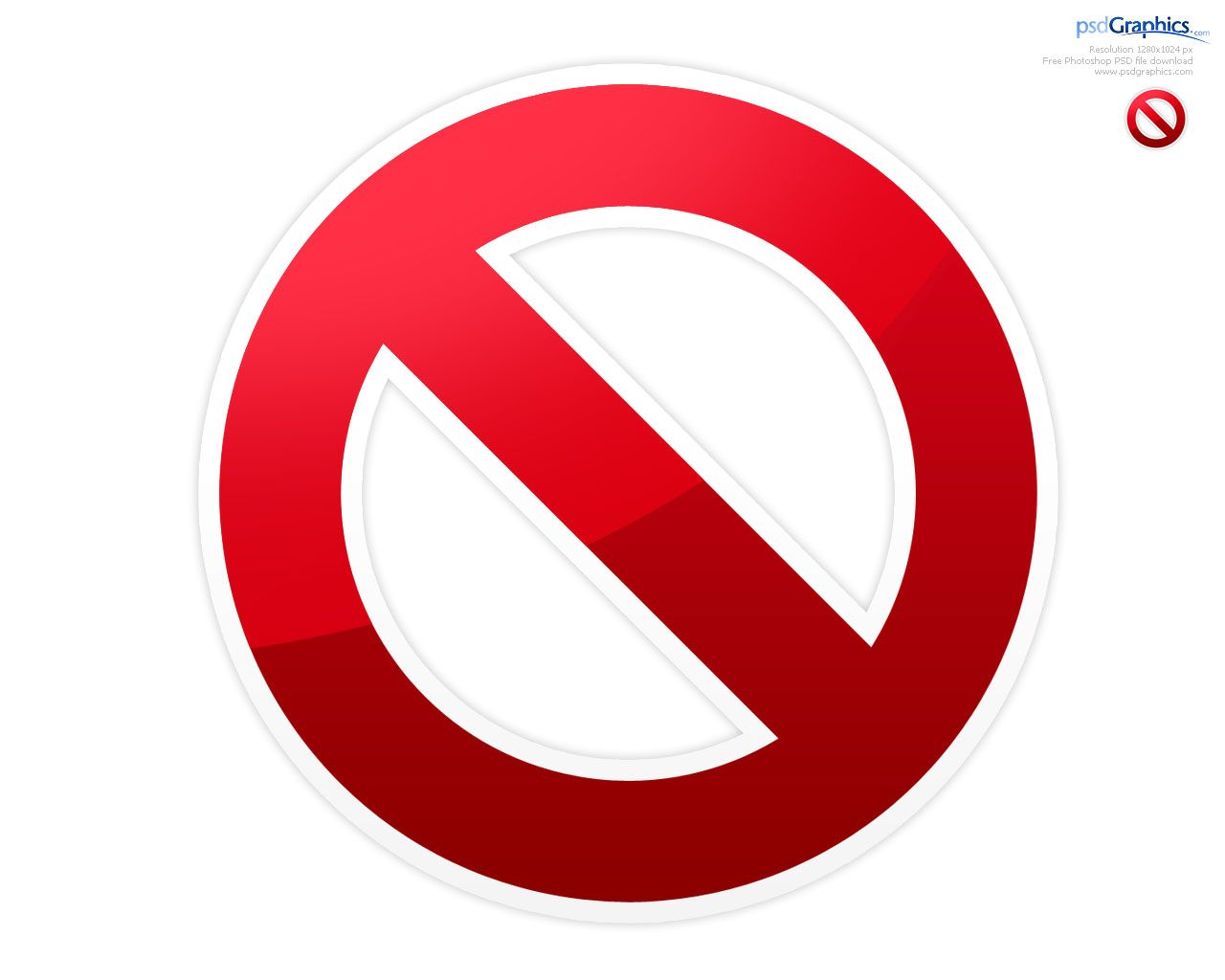 logo Banned Logo Symbol (PSD) 24PSD